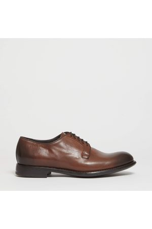 Doucal's Berby stingata in pelle cuoio