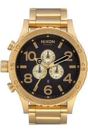 Nixon 51-30 Chrono Watch - All Gold/ ONE SIZE, Colour: All Gold/