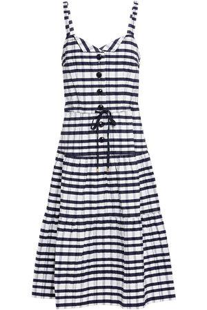 SALONI Woman Knee Length Dress Navy Size 10