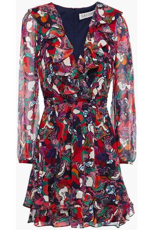 SALONI Woman Mini Dress Midnight Size 10