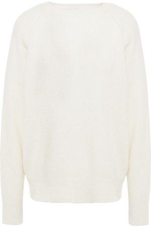 DAY Birger et Mikkelsen Woman Mélange Ribbed-knit Sweater Ivory Size S