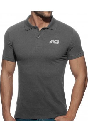 Addicted AD Classic Polo Shirt - Charcoal S