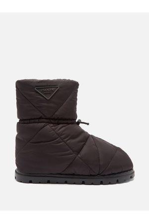 Prada Padded Nylon Snow Boots - Mens