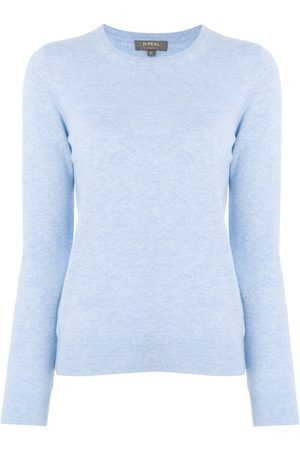 N.PEAL Crew neck cashmere sweater