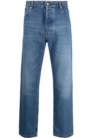 Ami Men Straight - Straight-leg cotton jeans