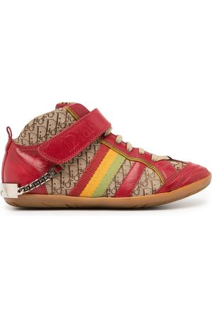 Dior Women Trainers - Pre-owned Trotter Rasta high-top sneakers