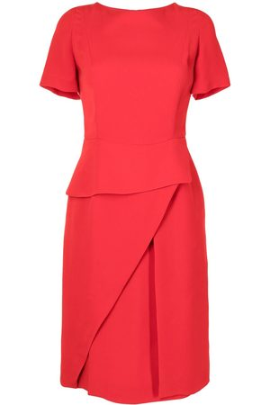 Christian Dior Pre-owned layered detailing silk dress