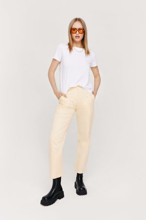 NASTY GAL Womens Pocket Detail High Waisted Cargo trousers