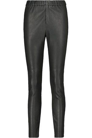Isabel Marant Iany straight-leg leather pants