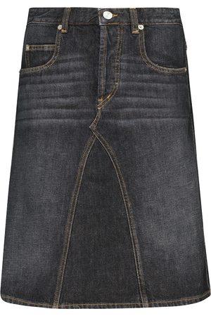 Isabel Marant Fiali cotton denim skirt