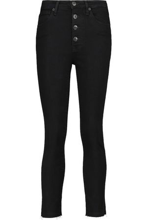 3x1 Poppy high-rise cropped skinny jeans