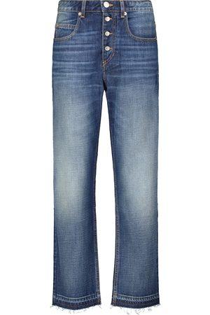 Isabel Marant Women High Waisted - Belden cotton high-rise jeans