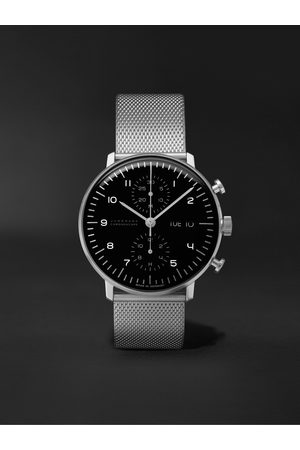 Junghans Max Bill Chronoscope 40mm Stainless Steel Watch, Ref. No. 27/4500.49