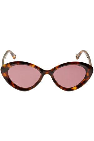 Chloé Osco Cat-eye Acetate Sunglasses