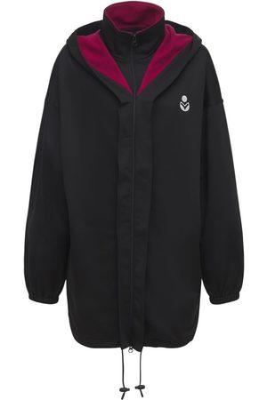 Isabel Marant Women Jackets - Isla Logo Tech & Cotton Short Jacket