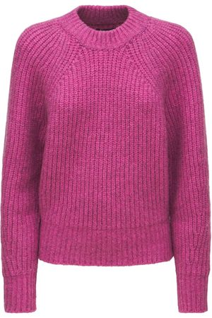 Isabel Marant Rosy Fluffy Cotton Blend Knit Sweater