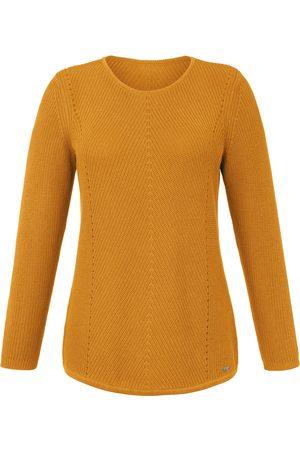 Emilia Lay Round neck jumper in rib knit size: 14