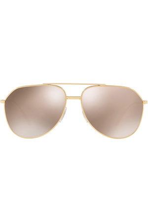 Dolce & Gabbana Men Sunglasses - Aviator-frame tinted sunglasses