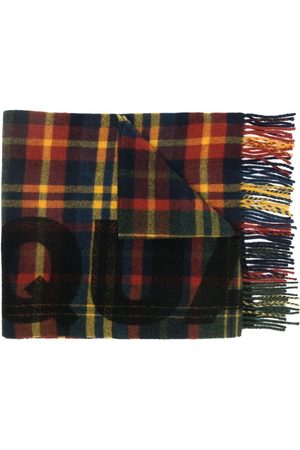 Dsquared2 Men Scarves - Checked virgin wool scarf