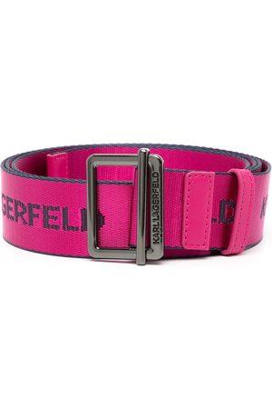 Karl Lagerfeld Women Belts - K/Webbing belt