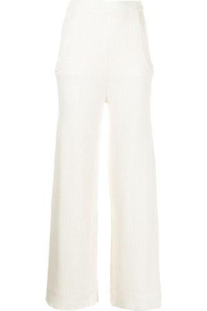 Ports 1961 Women Wide Leg Trousers - Wide-leg knit trousers