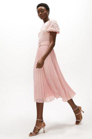 Coast Women Skirts - Coast Lace Pleated Skirt Dress
