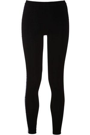 Dsquared2 Jersey Leggings W/ Logo Side Bands