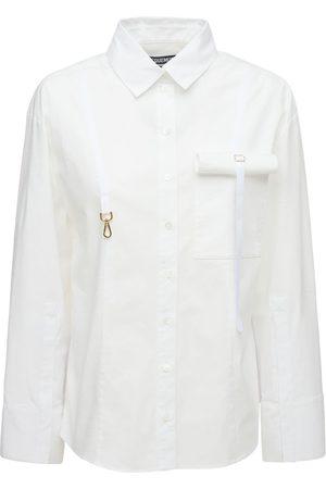 Jacquemus La Chemise Edolo Stretch Viscose Shirt