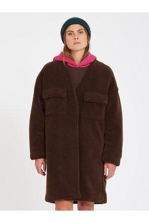 Volcom Women Coats - Women's Eesypeesy Coat - DARK