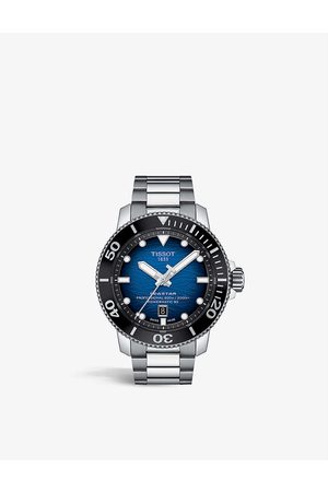 Tissot Men Watches - T1206071104101 Seastar 2000 steel chronograph watch