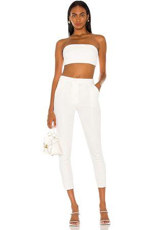 superdown Women Trousers - Remy Bandeau Pant Set in . Size XXS, XS, S, M, XL.