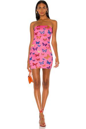 superdown Chloe Strapless Bodycon Dress in . Size XXS, XS, S, M, XL.