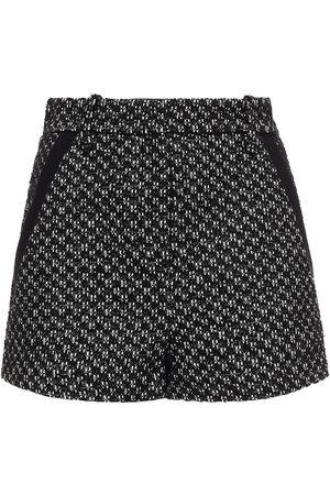 Maje Women Shorts - Woman Tweed Shorts Size 36