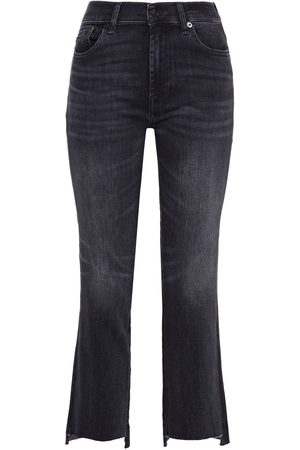 7 for all Mankind Women Slim - Woman Mid-rise Slim-rise Jeans Size 23