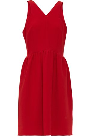Halston Heritage Women Dresses - Woman Gathered Crepe Dress Size 10