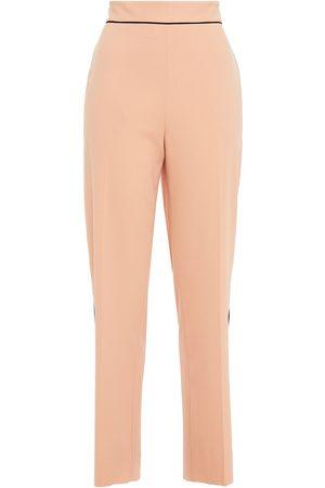 Etro Woman Crepe Straight-leg Pants Peach Size 46