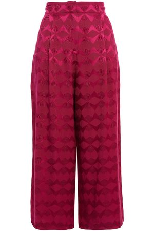 Etro Women Culottes - Woman Culottes Magenta Size 38