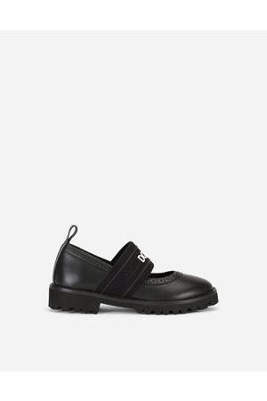Dolce & Gabbana Girls Brogues - Shoes (24-38) - Mary Janes with branded elastic female 24