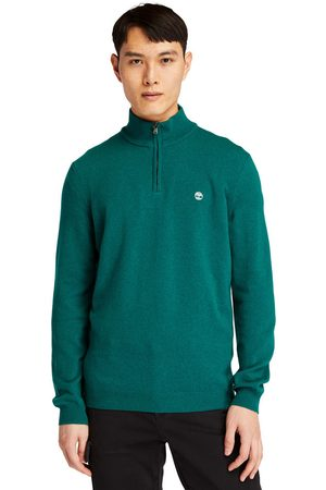 Timberland Cohas brook zip-neck sweater for men in , size 3xl