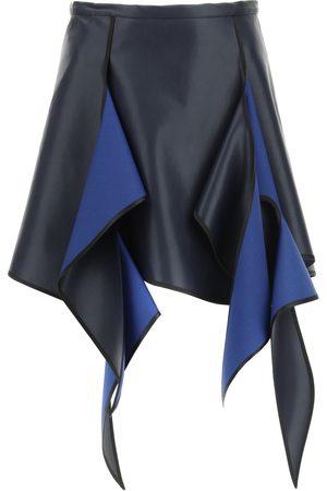 Y / PROJECT Women Mini Skirts - FLAME MINI SKIRT 36 Technical, Wool