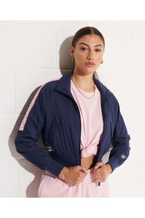 Superdry Women Sports Jackets - Non Hooded Track Wind Runner Jacket