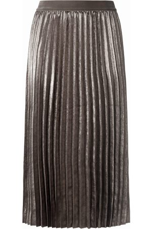Basler Women Maxi Skirts - Pleated maxi skirt lining size: 10
