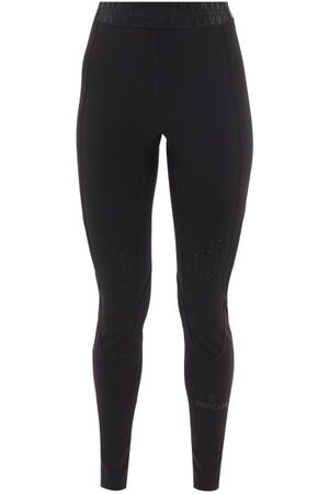 Moncler Women Leggings - High-rise Technical Stretch-jersey Leggings - Womens