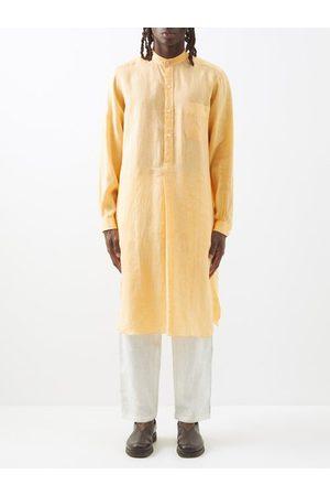 Charvet Stand-collar Linen Tunic - Mens