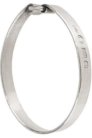 WERKSTATT:MÜNCHEN Engraved cuff bracelet - Metallic