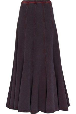 Y / PROJECT Women Midi Skirts - Panelled flared midi skirt