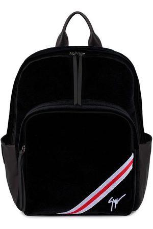 Giuseppe Zanotti Men Rucksacks - Chalmer velvet backpack