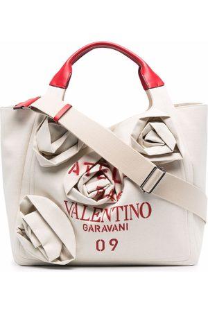 VALENTINO GARAVANI Atelier 09 Rose Blossom Edition tote bag - Neutrals