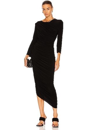 Norma Kamali Women Evening Dresses - Long Sleeve Diana Gown in