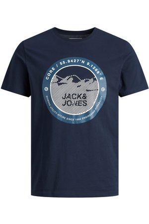 JACK & JONES Boys T-shirts - Boys Circular Logo Print T-shirt